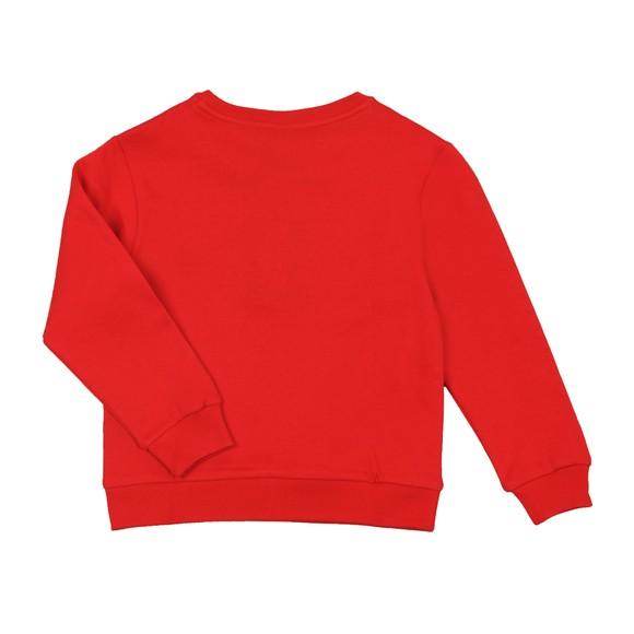 Paul & Shark Cadets Boys Red Small Logo Sweatshirt