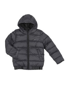 BOSS Boys Grey Boys J26387 Puffer Jacket