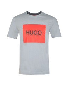 HUGO Mens Grey Dolive 194 T Shirt