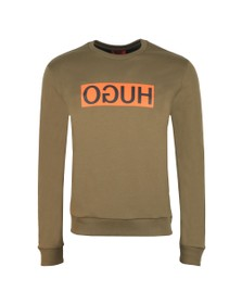 HUGO Mens Green Dicago Sweatshirt