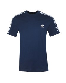 adidas Originals Mens Blue Tech Tee