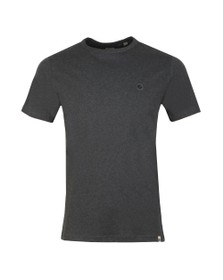 Pretty Green Mens Grey Basic T-Shirt