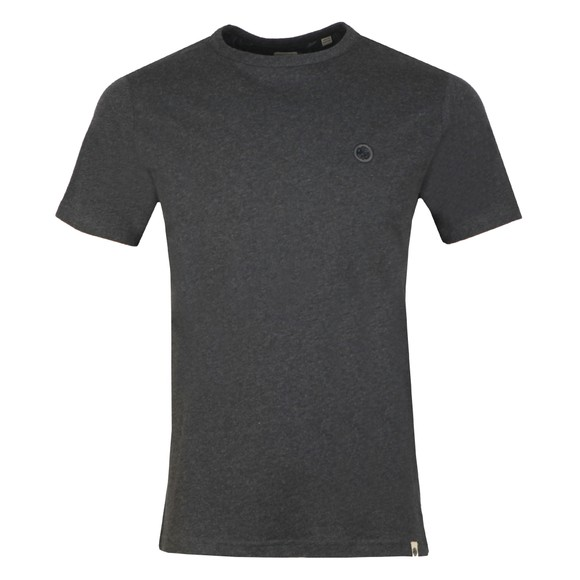 Pretty Green Mens Grey Basic T-Shirt