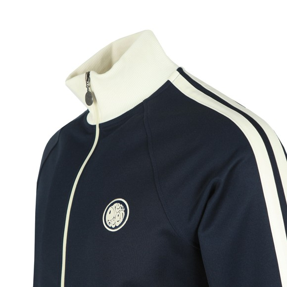 Pretty Green Mens Blue Contrast Panel Sleeve Track Top main image