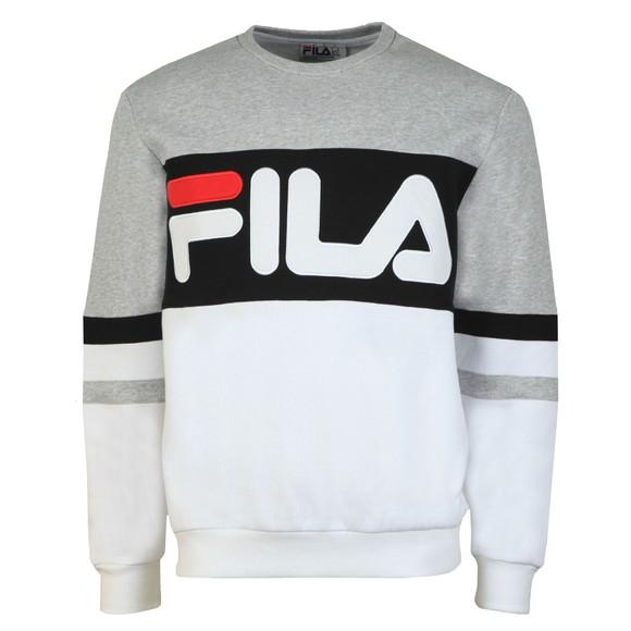 Fila Mens Grey Freddie Crew Sweatshirt