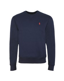 Polo Ralph Lauren Mens Blue Fleece Crew Neck Sweatshirt