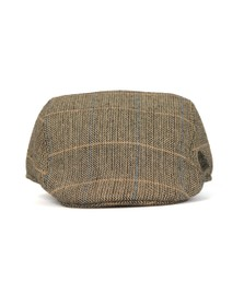 Marc Darcy Mens Brown Ted Cap