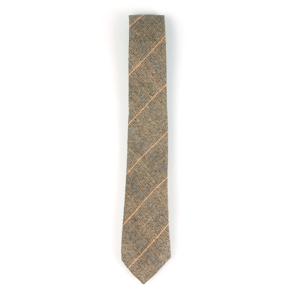 Marc Darcy Mens Brown Ted Tie main image