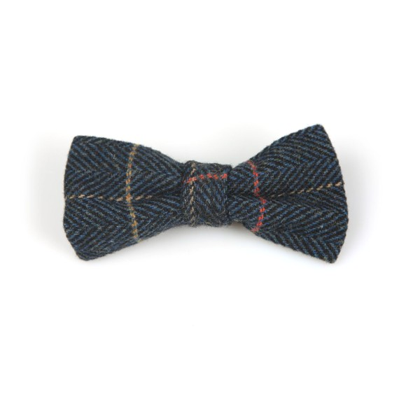Marc Darcy Mens Blue Eton Bow Tie main image