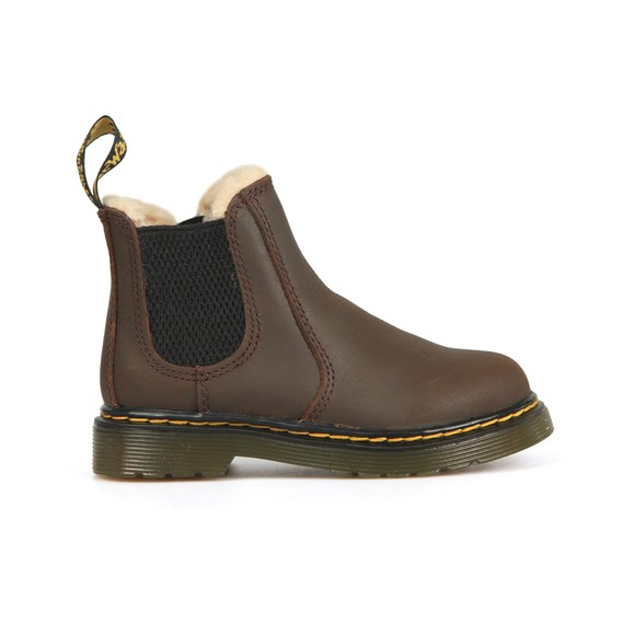 Dr. Martens Girls Brown Leonore Jockey Boot