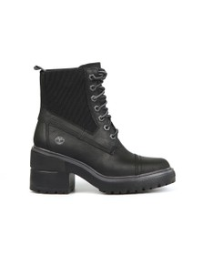 Timberland Womens Black Silver Blossom Boot
