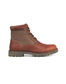 Barbour Lifestyle Mens Brown Cheviot Derby Boot