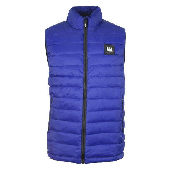 Weekend Offender Mens Blue Gacha Gilet