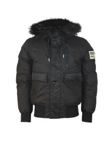 Diesel Mens Black Burkisk Jacket