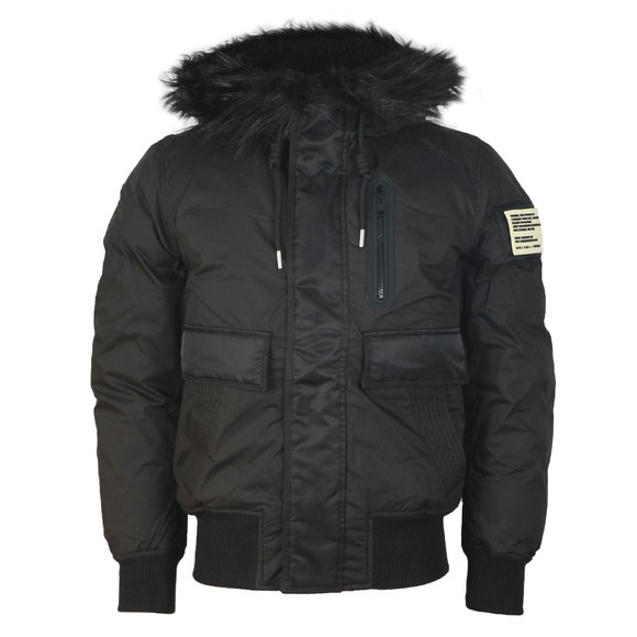 Diesel Mens Black Burkisk Jacket main image