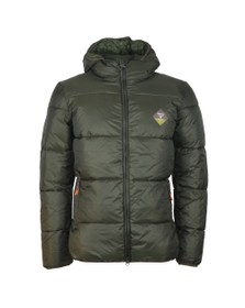 Barbour Beacon Mens Green Ross Quilt Jacket
