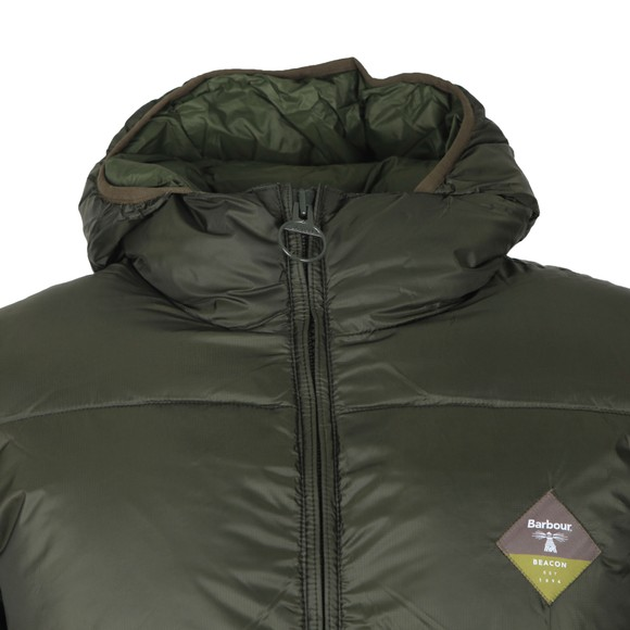 Barbour Beacon Mens Green Ross Quilt Jacket main image