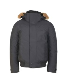 Lacoste Mens Black BH8400 Bomber Jacket