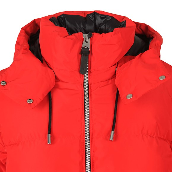 Mackage Womens Red Aubrie Down Bomber