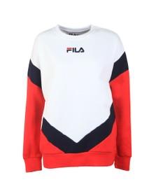 Fila Womens White Kairy Athletic Sweat