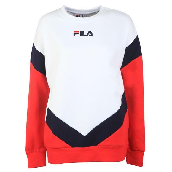 Fila Womens White Kairy Athletic Sweat main image