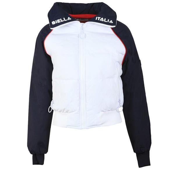 Fila Womens White Maiko Puffer Jacket main image