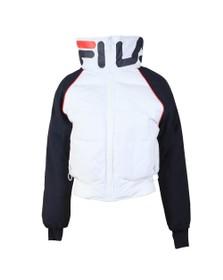 Fila Womens White Maiko Puffer Jacket