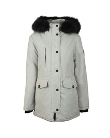 Superdry Womens Grey Ashley Everest Parka Jacket