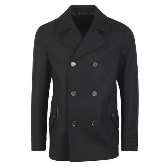 HUGO Mens Black Balno1941 Wool Coat main image
