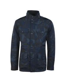 Polo Ralph Lauren Mens Blue Camo Modern JKT Poly Filled Jacket