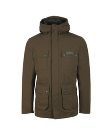 Barbour International Mens Green Endo Jacket