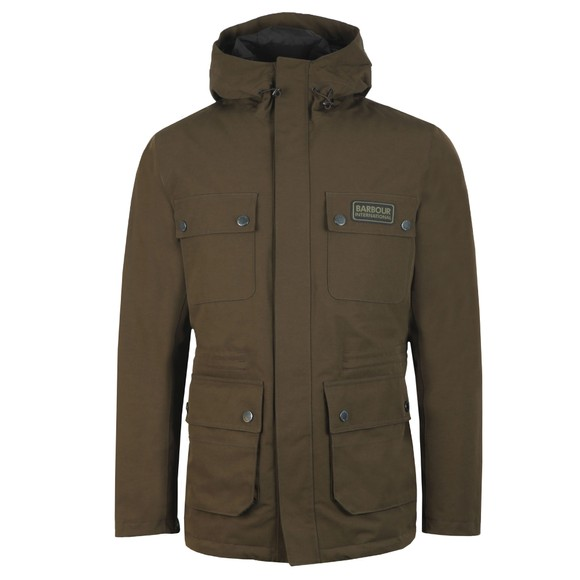 Barbour International Mens Green Endo Jacket main image