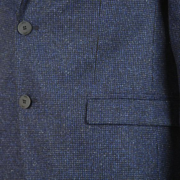 HUGO Mens Blue Harelto 1941 Blazer