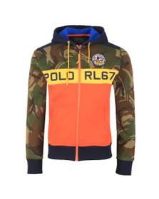 Polo Ralph Lauren Mens Blue Polo Sportsman Camo Hoody