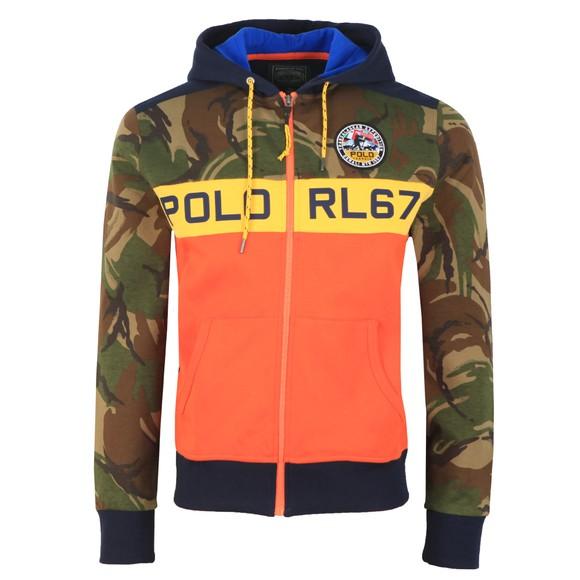 Polo Ralph Lauren Mens Multicoloured Polo Sportsman Camo Hoody