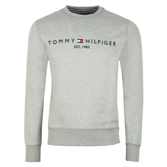 Tommy Hilfiger Mens Grey Logo Sweatshirt main image