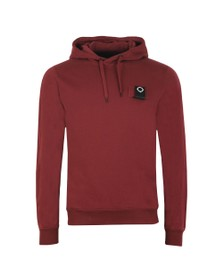 Ma.Strum Mens Red Overhead Training Hoody