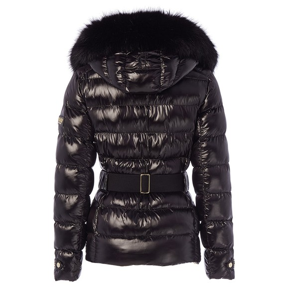 Holland Cooper Womens Black Aspen Jacket main image
