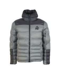 Kings Will Dream Mens Grey Bowden Hooded Jacket
