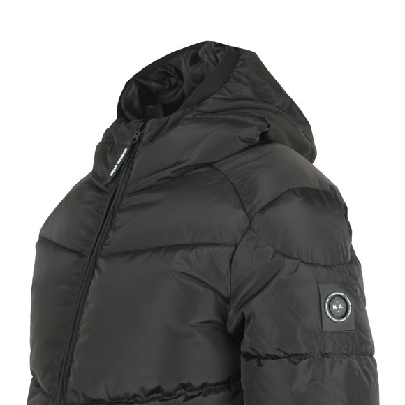 Marshall Artist Mens Black Paninaro Bubble Jacket main image