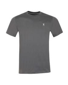 Psycho Bunny Mens Grey Classic Crew Neck T-Shirt