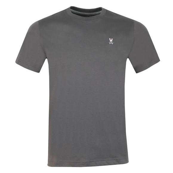 Psycho Bunny Mens Grey Classic Crew Neck T-Shirt main image