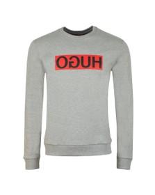 HUGO Mens Grey Dicago Sweatshirt