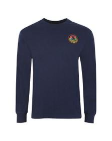 Polo Ralph Lauren Mens Blue Polo Sportsman Long Sleeve T Shirt