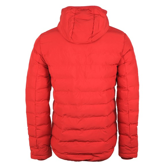 Fred Perry Mens Red Insulated Hooded Jacket main image