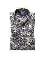 Large Floral Pattern Shirt