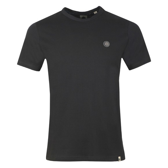 Pretty Green Mens Black Basic T-Shirt