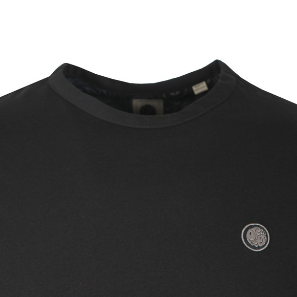 Pretty Green Mens Black Basic T-Shirt main image