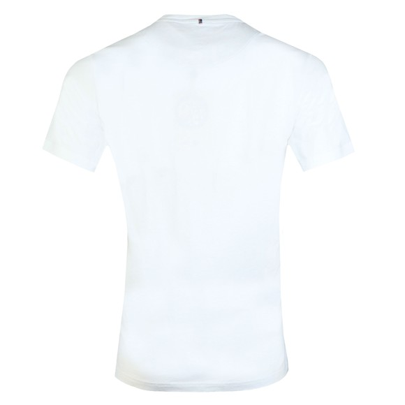 Pretty Green Mens White Basic T-Shirt