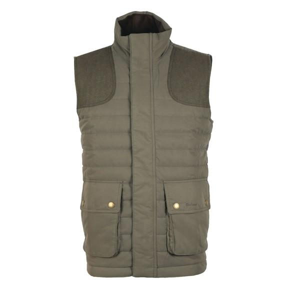 Barbour Countrywear Mens Green Bradford Gilet main image